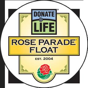 Carro alegórico de Done Vida para el Desfile de las Rosas