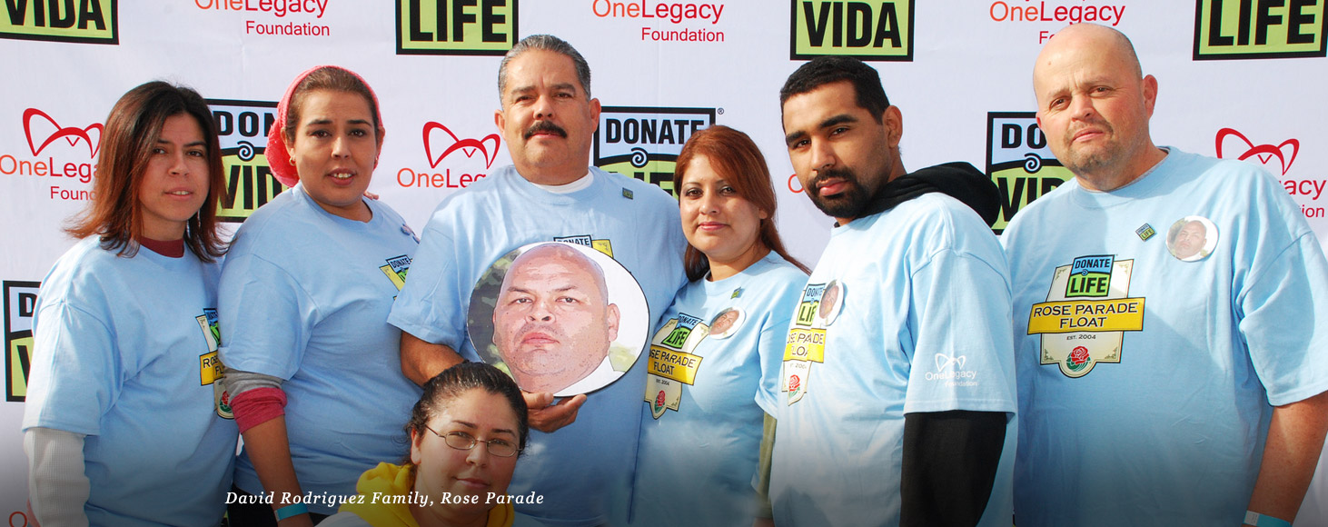 David Rodriguez Family, Rose Parade